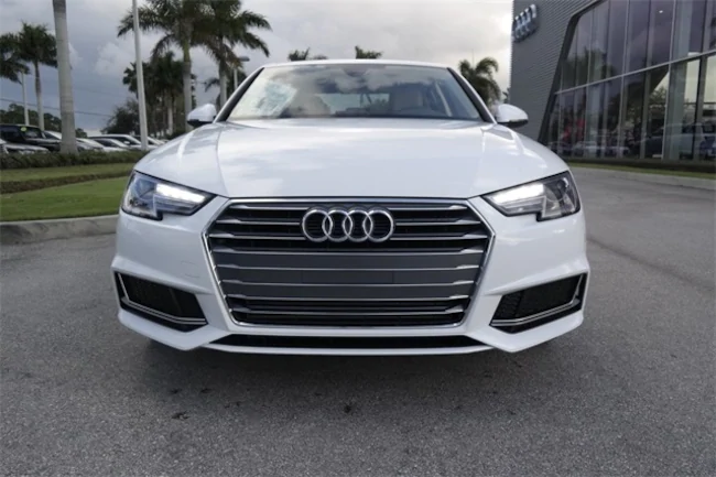 2019 White Audi A4