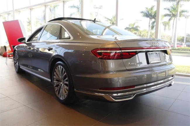 BMW Lease Deals Ma >> 2019 AUDI A8 GRAY 3 | Evolution Leasing