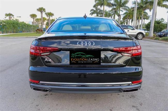 2019 Audi A4 Black 4