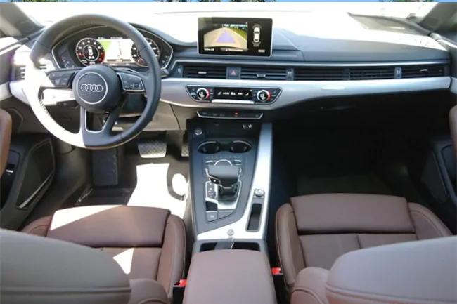 2019 Audi A5 biege interior