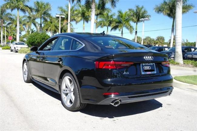 2019 Audi A5 black 2