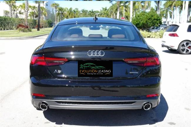 2019 Audi A5 black 3