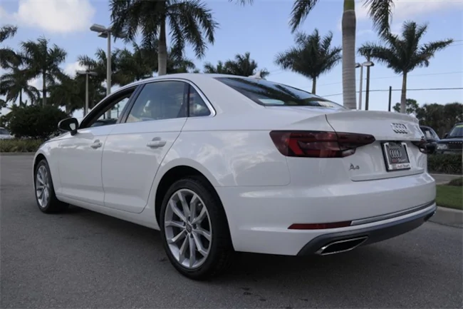 BMW Lease Deals Ma >> 2019 White Audi A4 | Evolution Leasing