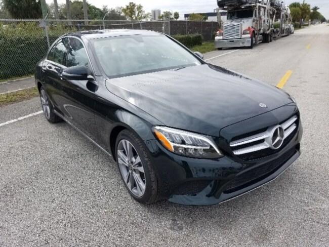 2019 Mercedes C CLASS SEDAN BLACK 2