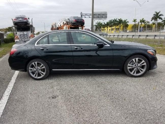 2019 Mercedes C CLASS SEDAN BLACK 3