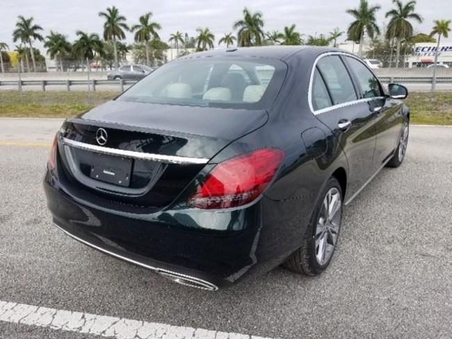 2019 Mercedes C CLASS SEDAN BLACK 4