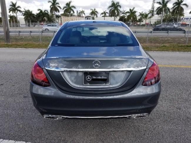 2019 Mercedes C CLASS SEDAN GRAY 5