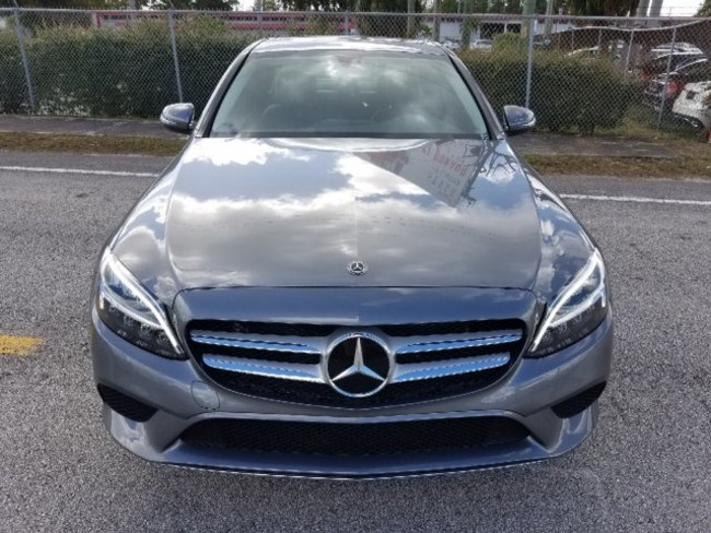 2019 Mercedes C CLASS SEDAN GRAY