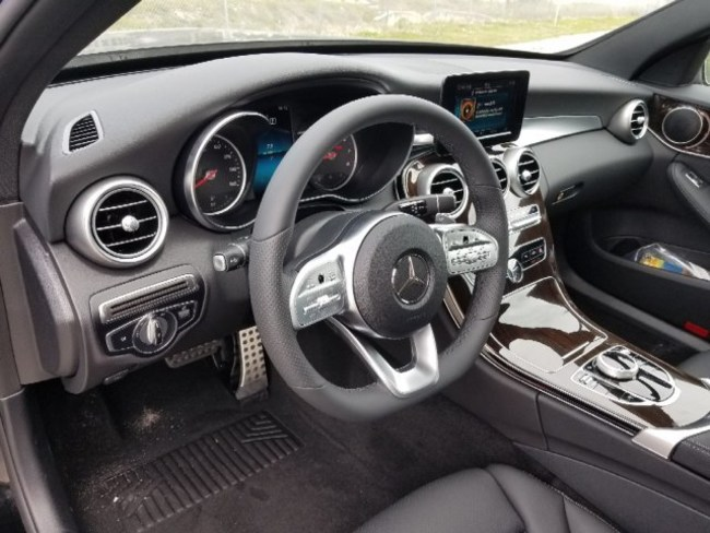 2019 Mercedes C CLASS SEDAN INTERIOR
