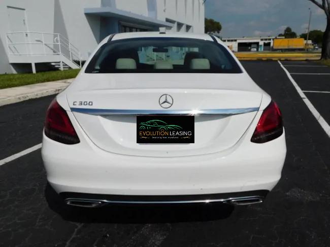 2019 Mercedes C CLASS SEDAN WHITE 5
