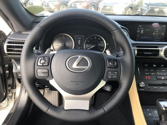 2019 Lexus RC350 interior