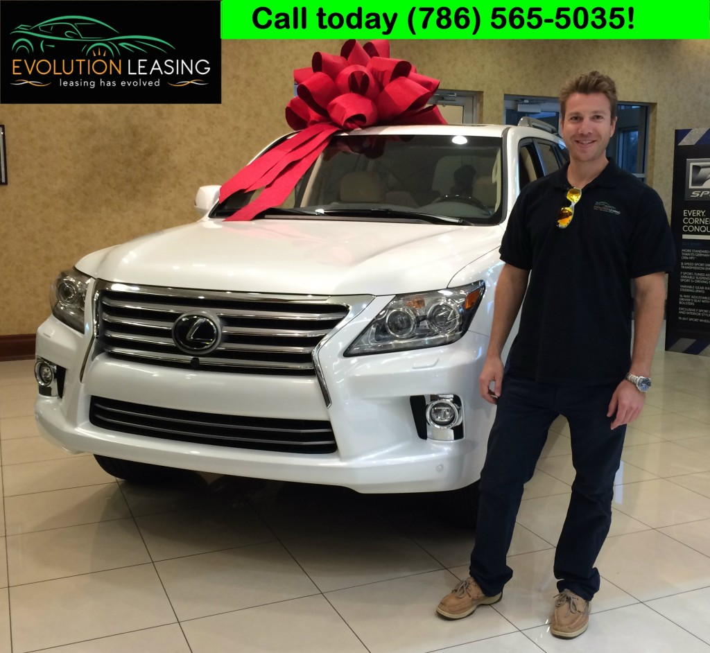 Evolution Leasing Lexus GX 460 Happy Holidays!