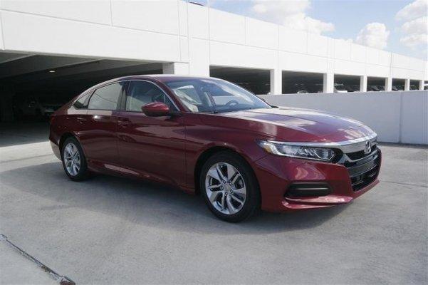 2019 Honda Accord Red