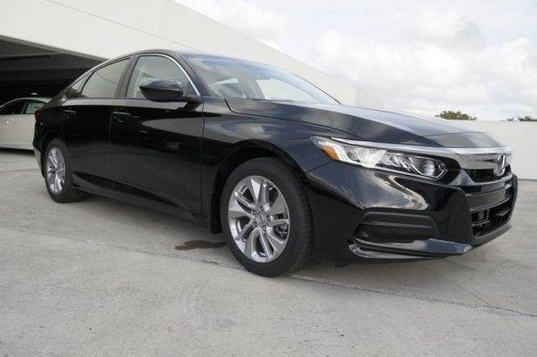 2019 Honda Accord Black
