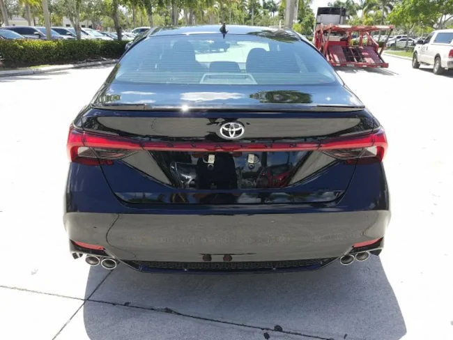 2019 Toyota Avalon Black 5