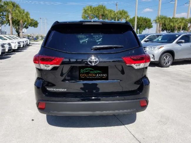 Toyota Lease Deals Nh >> 2019 Toyota Highlander Black 5   Evolution Leasing