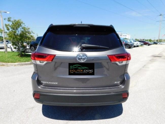 2019 Toyota Highlander gray 5
