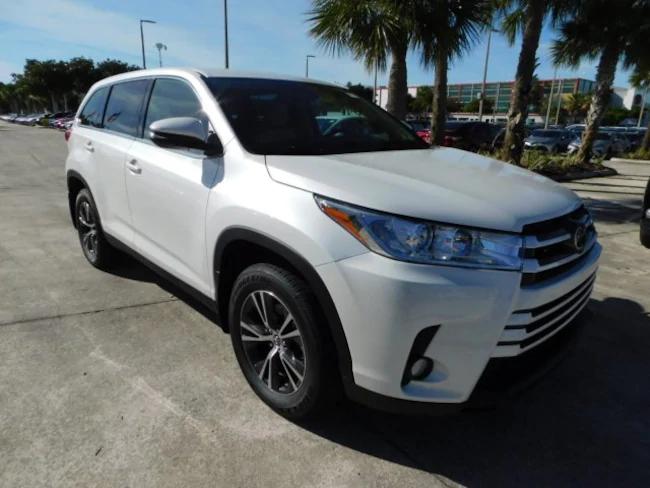 2019 Toyota Highlander white 2