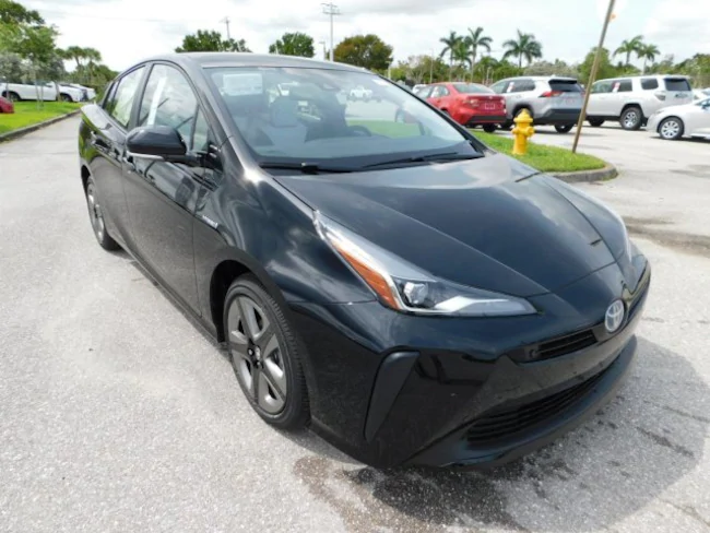 2019 Toyota Prius black 2