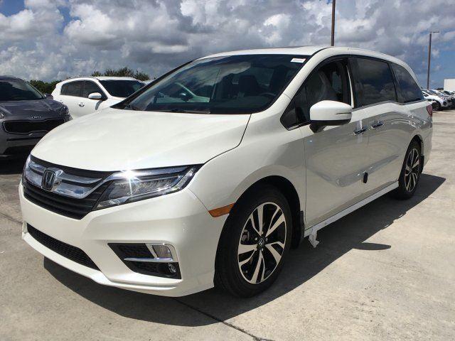 Honda Odyssey white 1