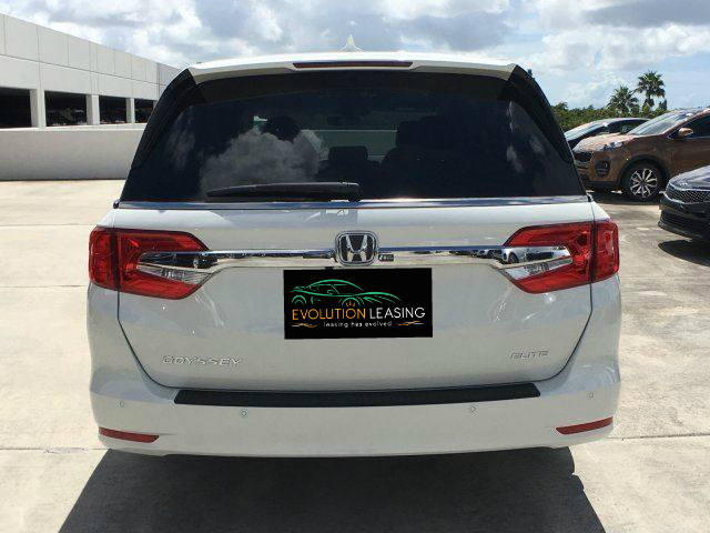 Honda Odyssey White Best Lease Deals Miami South Florida