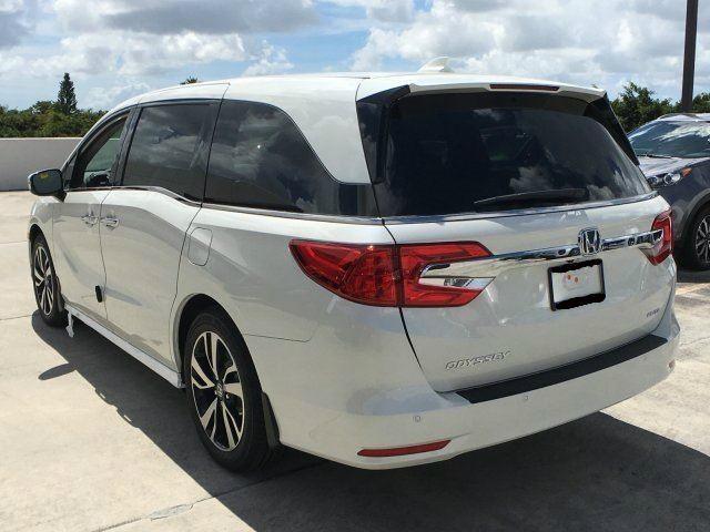 Honda Odyssey white best lease deals miami south florida