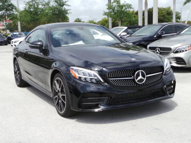 2019 Mercedes C CLASS Coupe black 2