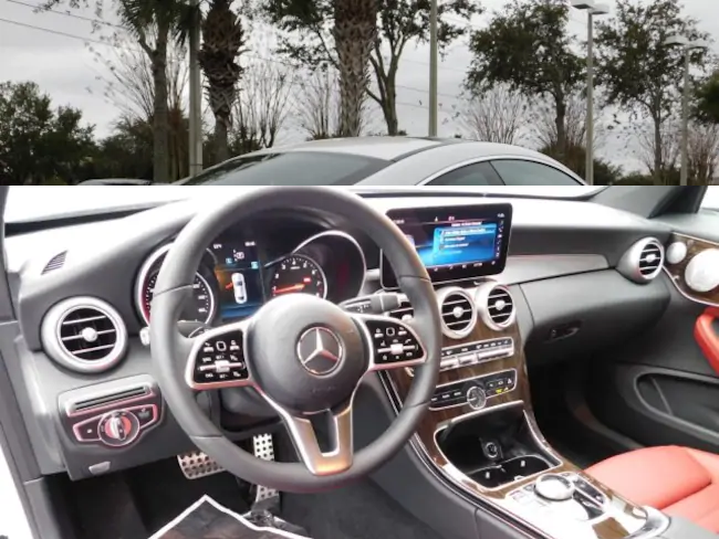 2019 Mercedes C CLASS Coupe interior