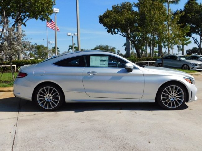 2019 Mercedes C CLASS Coupe silver 3