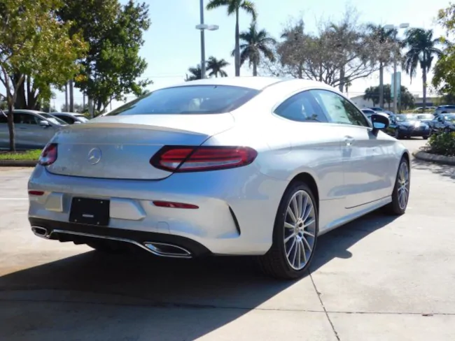 2019 Mercedes C CLASS Coupe silver 4