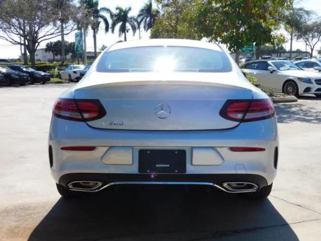 2019 Mercedes C CLASS Coupe silver 5
