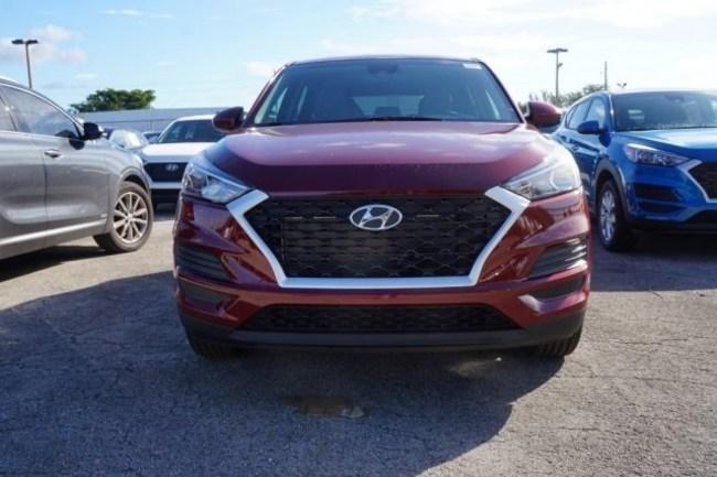 2019 Hyundai Tucson red
