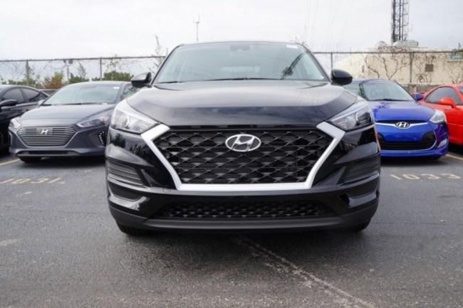 2019 Hyundai Tucson black