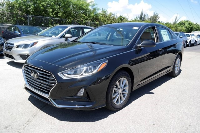 2018 Hyundai Sonata Black Best Lease Deals Miami South Florida