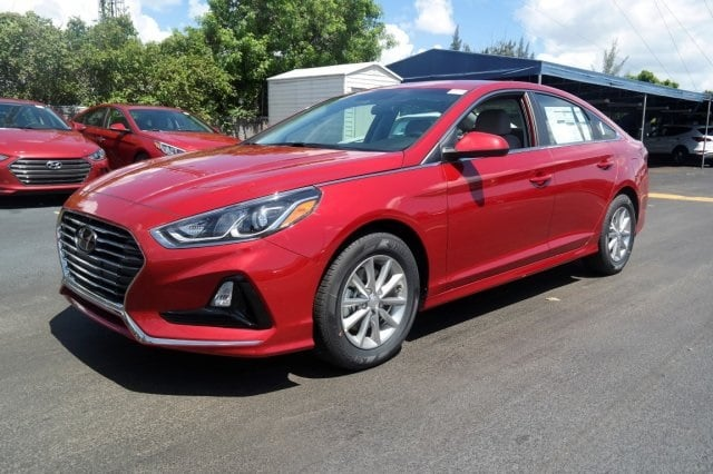 2018 Hyundai Sonata Red Best Lease Deals Miami South Florida
