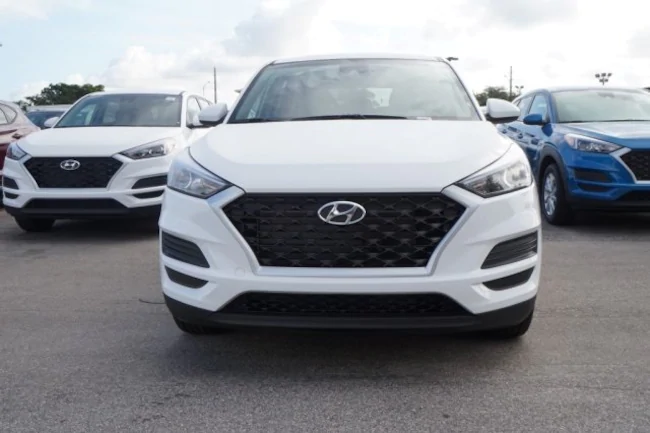 BMW Lease Deals Ma >> 2019 Hyundai Tucson White | Evolution Leasing