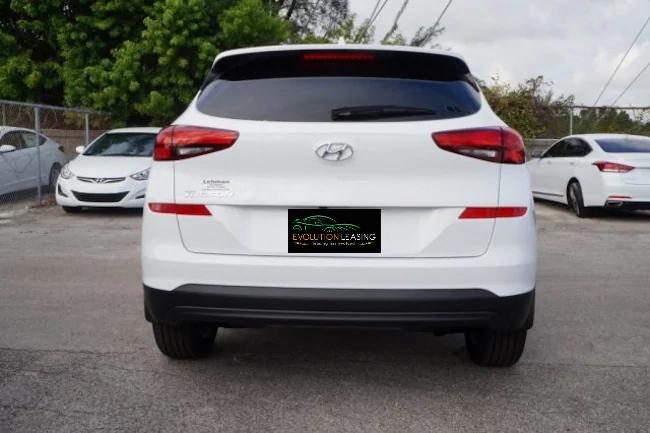 2019 Hyundai Tucson white
