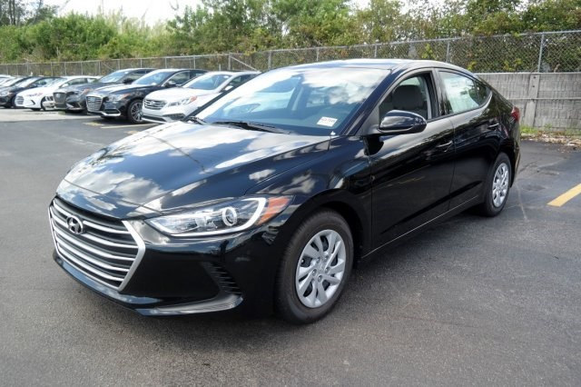 Hyundai Elantra Black Best Lease Deals Miami South Florida