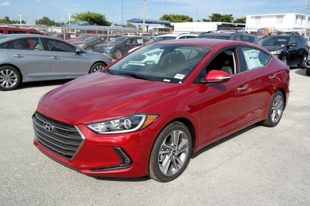 Hyundai Elantra Red Best Lease Deals Miami South Florida
