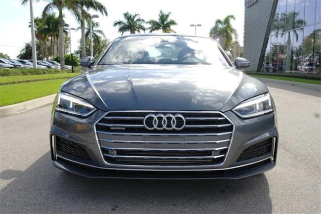 2019 Audi A5 Gray 1