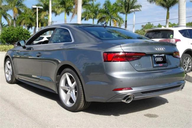 2019 Audi A5 Gray 2