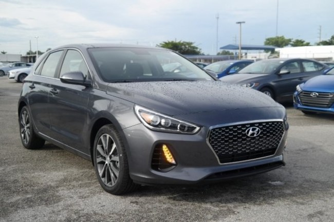 2019 Hyundai Elantra GT gray 2