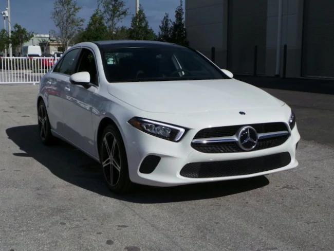2019 Mercedes A-Class White 2