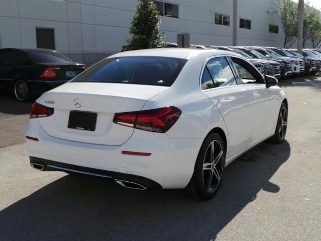 2019 Mercedes A-Class White 4